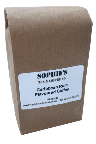 Caribbean Rum Flavoured Coffee