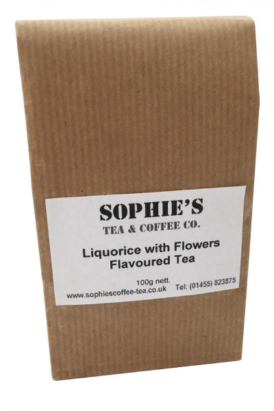 Liquorice with Flowers Flavoured Tea